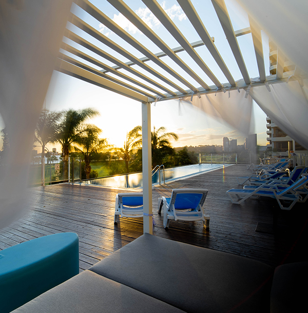 Cabana Pool Deck Crowne Plaza Perth
